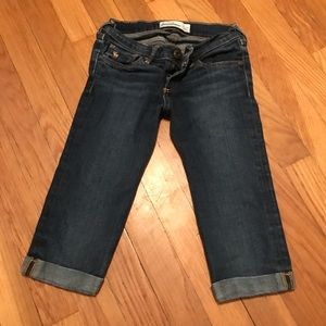 Abercrombie Kids Denim Capris